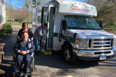 transporting patient - Orchard House