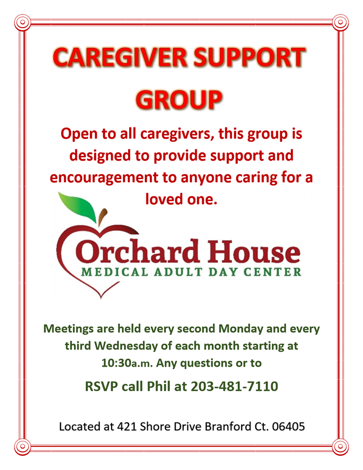 caregiver support - Orchard House